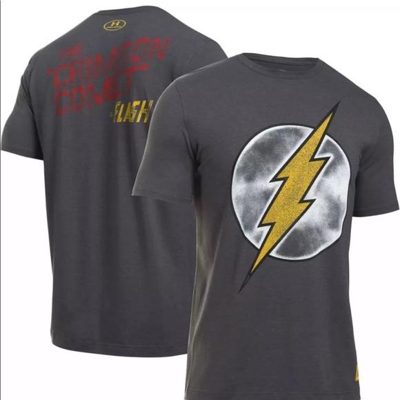 mejor proveedor productos de calidad materiales superiores Under Armour Shirts   Flash Dc Comics Tee   Poshmark